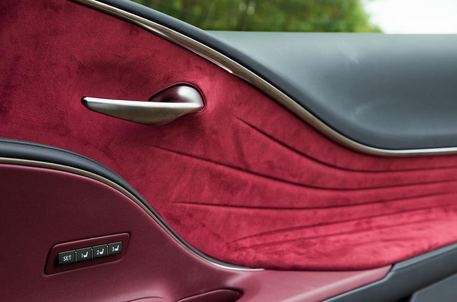 Lexus LC500 lavish door card