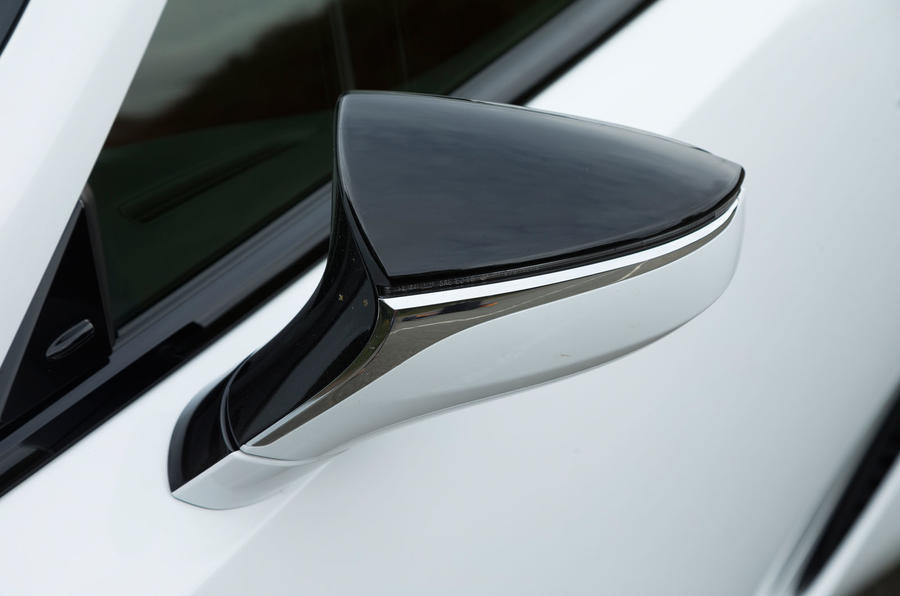 Lexus LC500 wing mirror