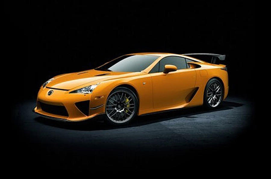Hotter Lexus LFA revealed