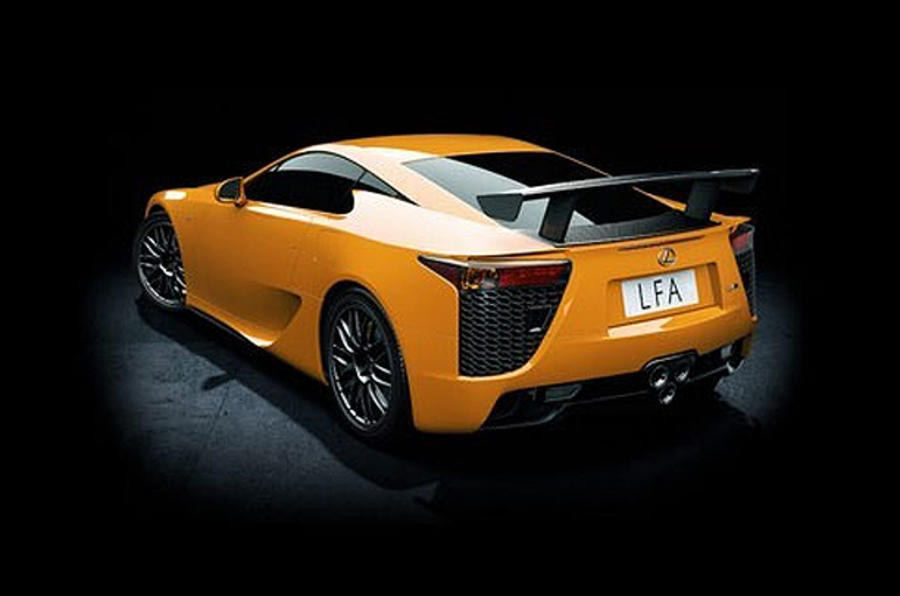 Hardcore Lexus LFA costs £400k