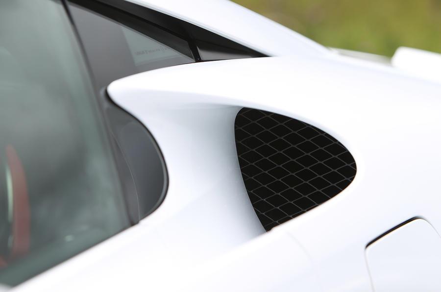 Lexus LFA side air intakes