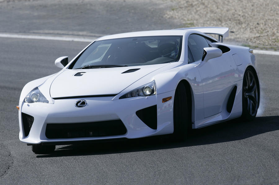 Lexus LFA lease scheme canned