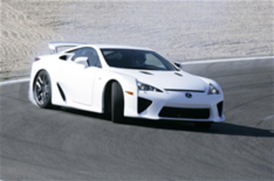 Lexus LFA Costs £343,000
