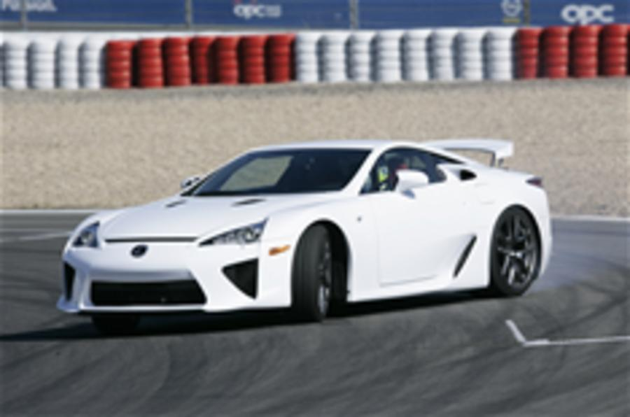 Lexus LFA on video