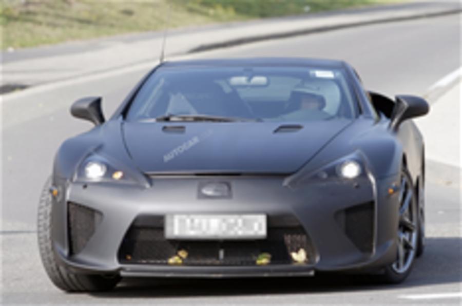 More pics - Lexus LF-A supercar