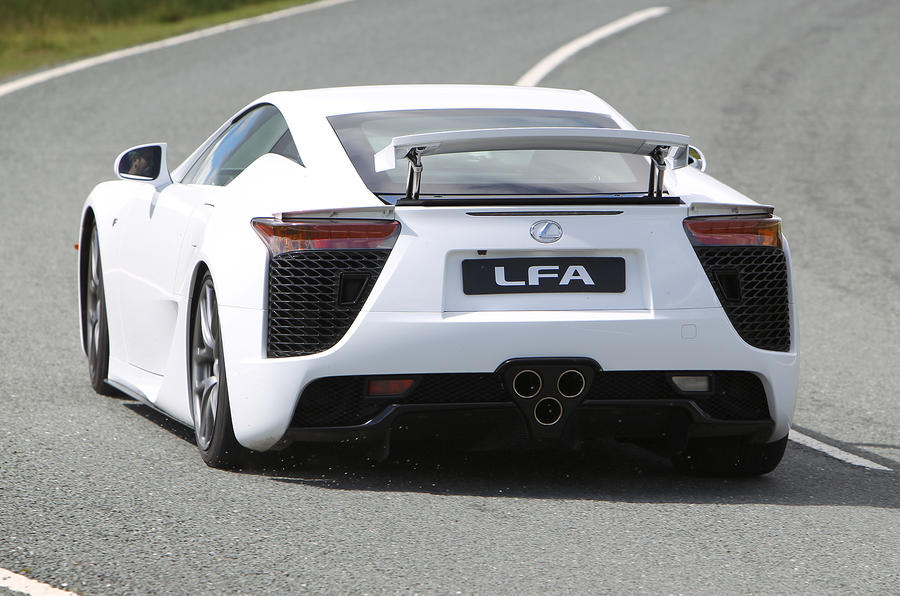 ... Lexus LFA Rear Cornering ...