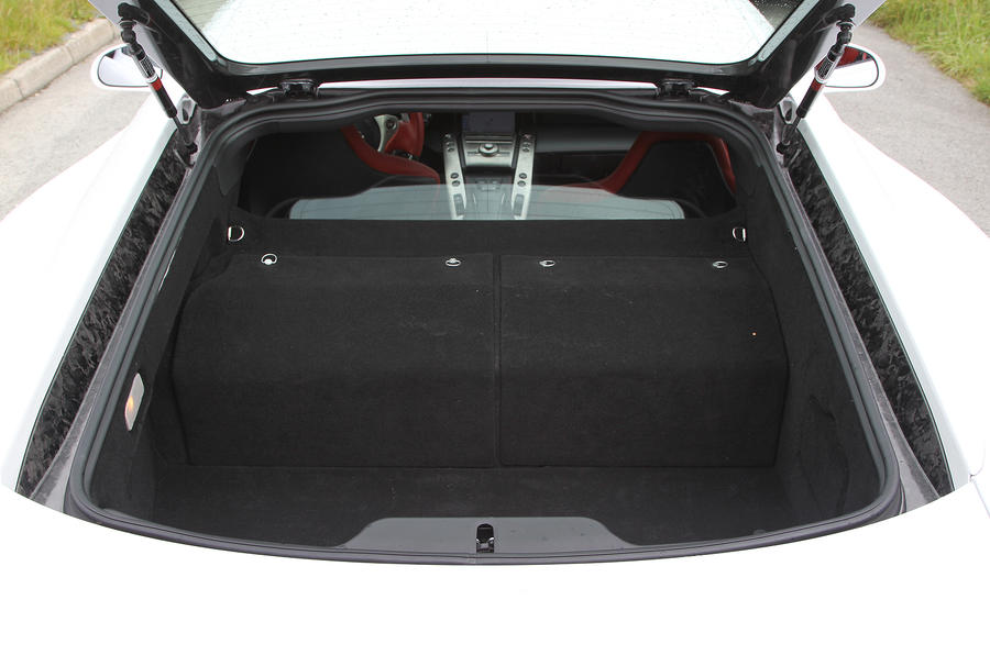 Lexus LFA liftback boot space