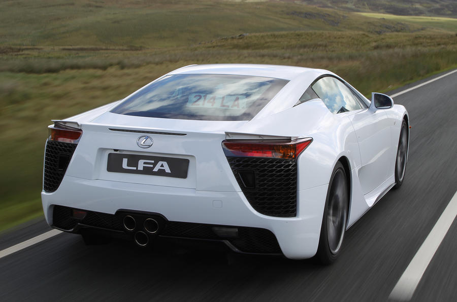 Lexus LFA rear quarter
