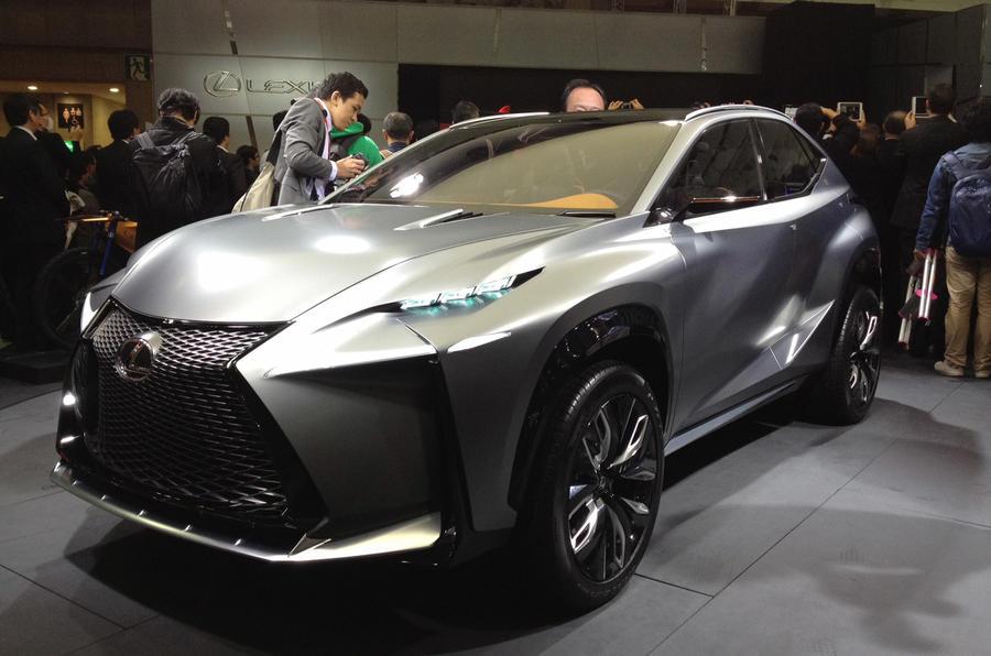 Tokyo motor show 2013: Lexus LF-NX concept