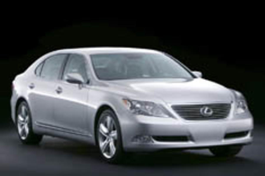 Covers come off new Lexus LS