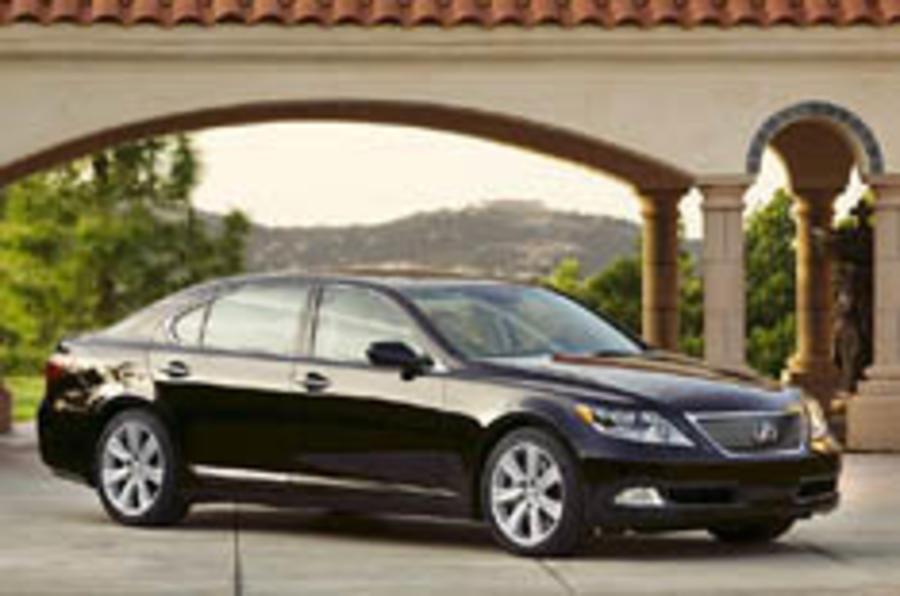 Lexus reveals hybrid luxury saloon
