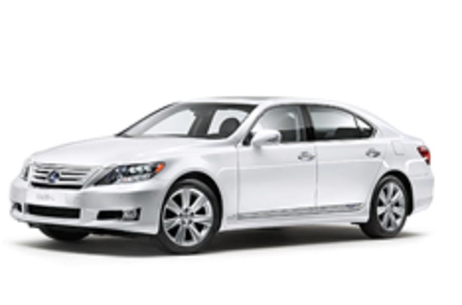 Lexus launches new LS600h