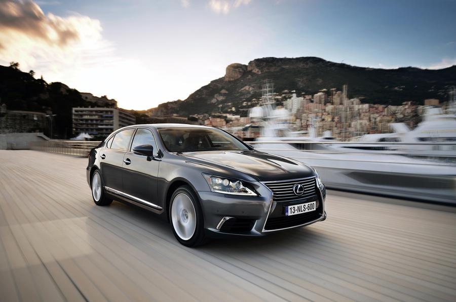 3.5 star Lexus LS