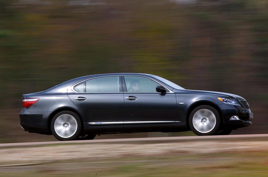 Lexus LS side profile