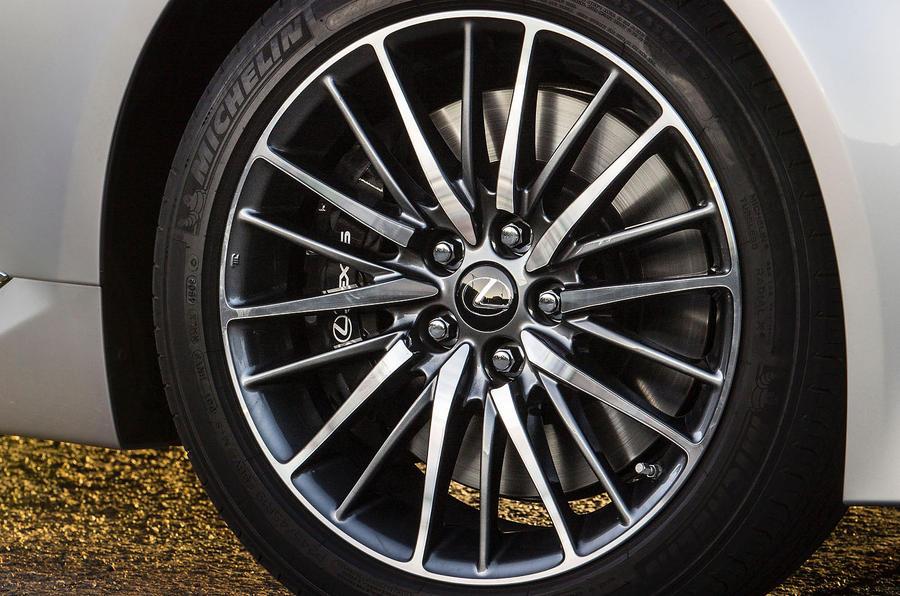 20in Lexus LS460 alloys