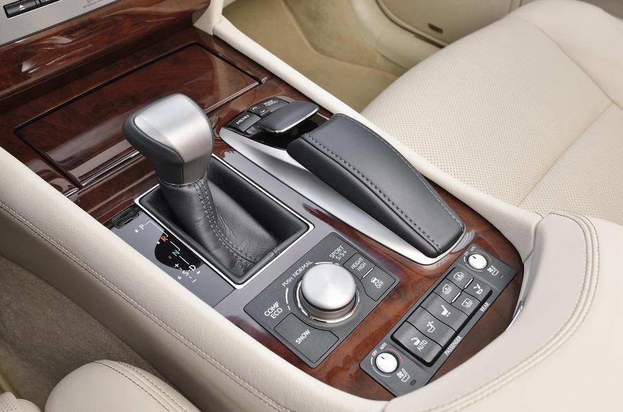 Lexus LS460 CVT gearbox