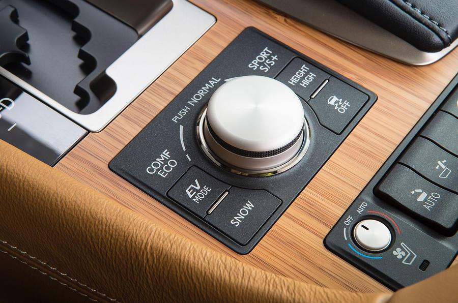 Lexus LS600h infotainment controller