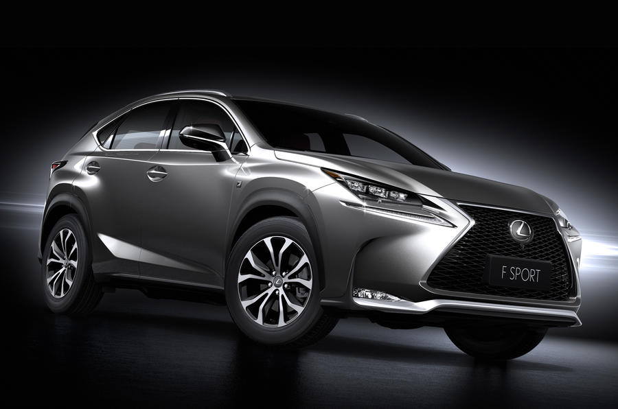 Production-ready Lexus NX revealed