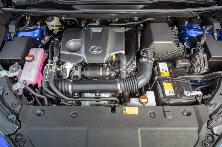 Lexus NX200t petrol engine