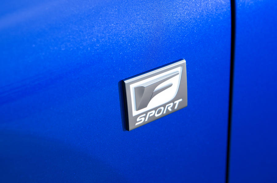 Lexus NX F-Sport badge