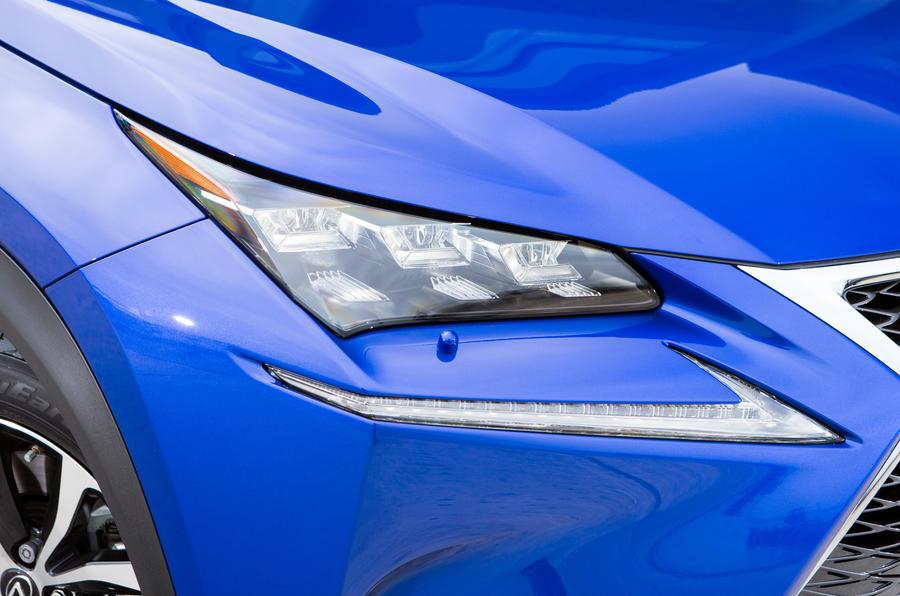 Lexus NX LED headlights