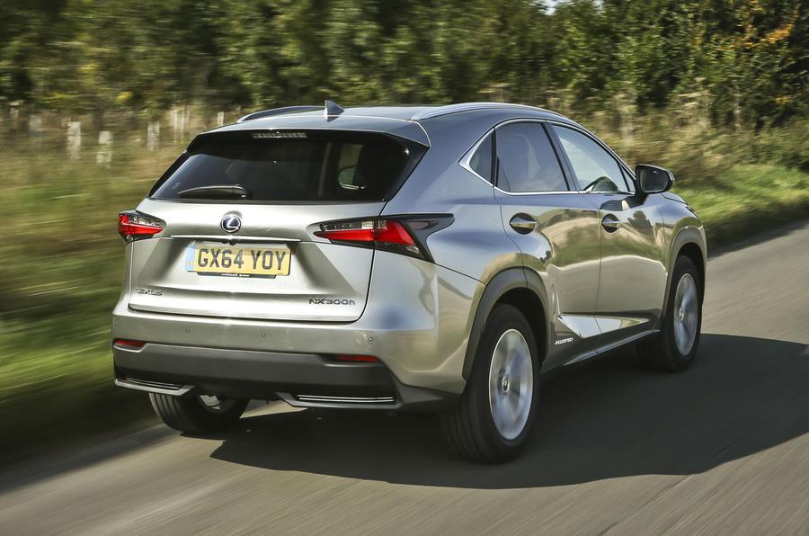 Lexus NX rear quarter