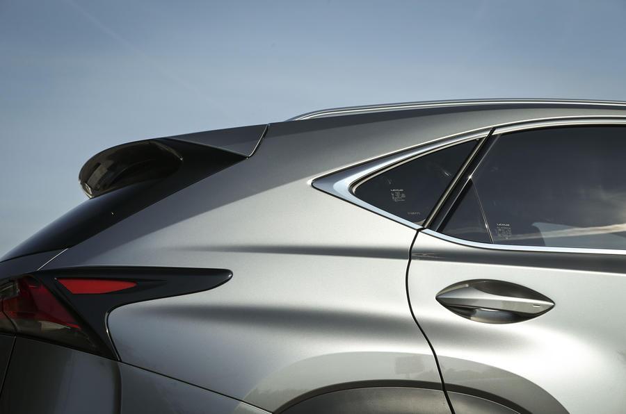Lexus NX rear end