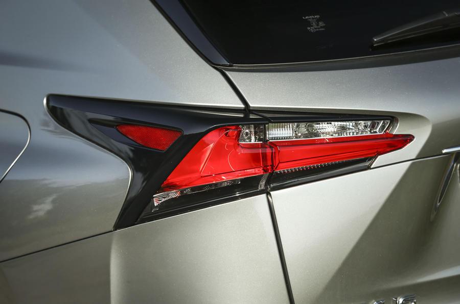 Lexus NX rear lights