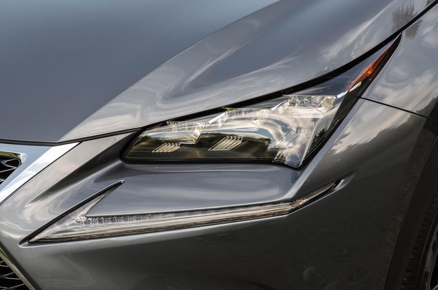 Lexus NX200t F Sport LED headlights