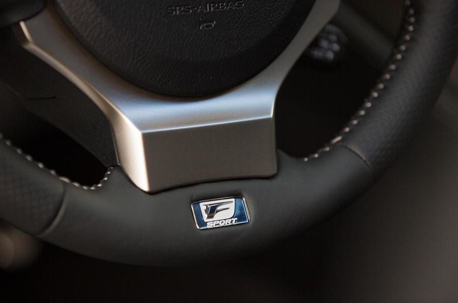 Lexus NX200t F Sport badge