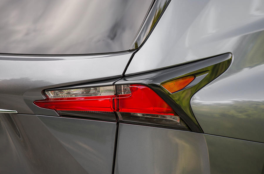 Lexus NX200t F Sport rear lights