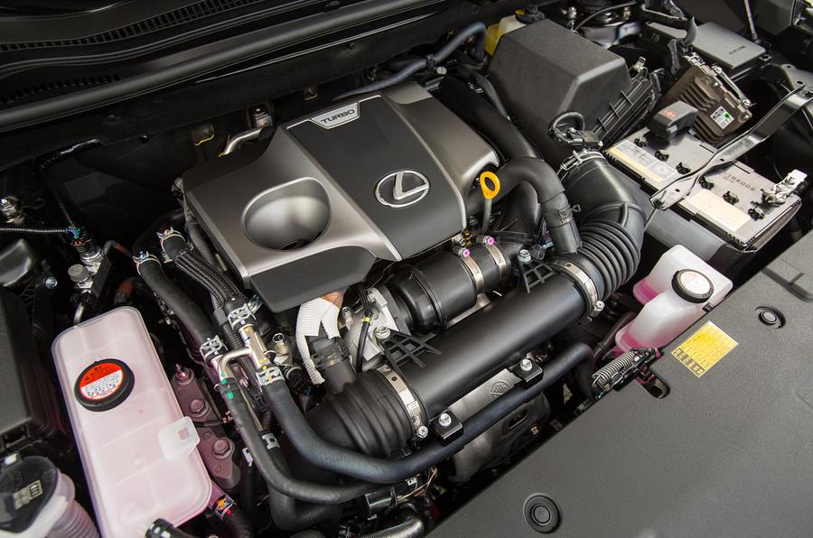 2.0-litre Lexus NX200t F Sport petrol engine