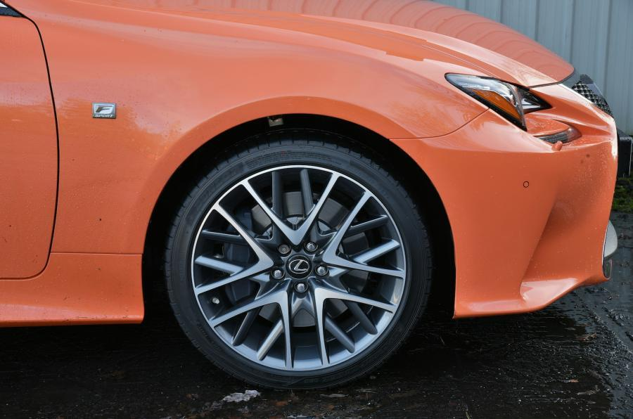 19in Lexus RC alloy wheels