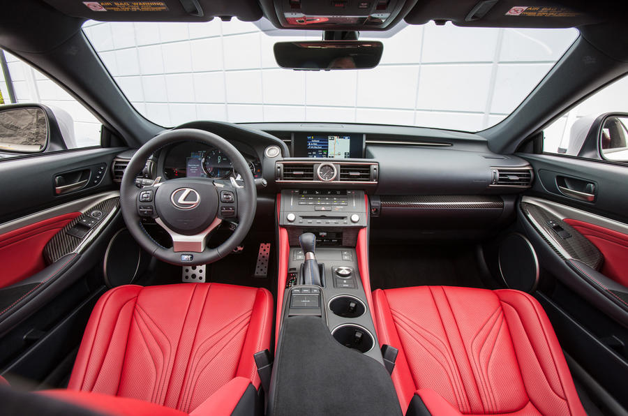 2015 Lexus RC F first drive