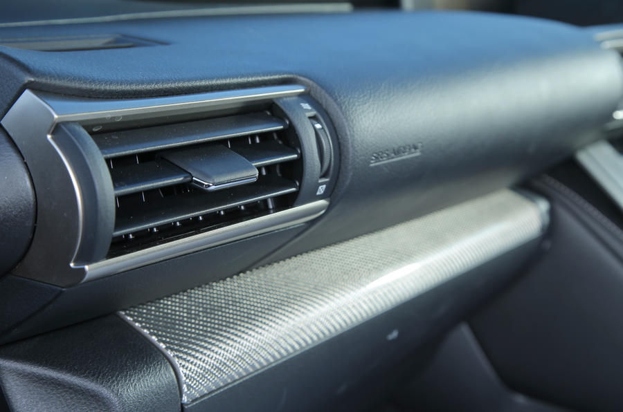 Lexus RC-F air vent