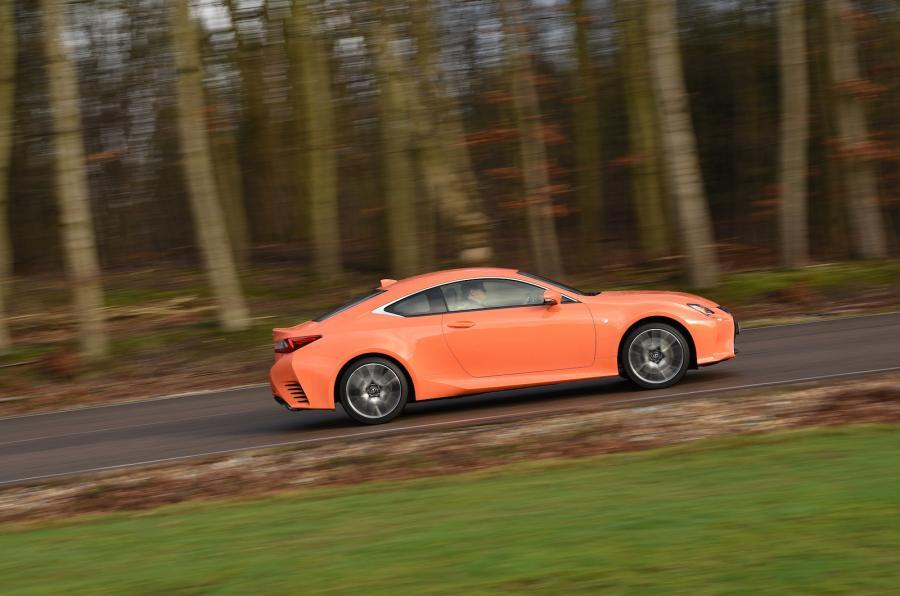 Lexus RC side profile
