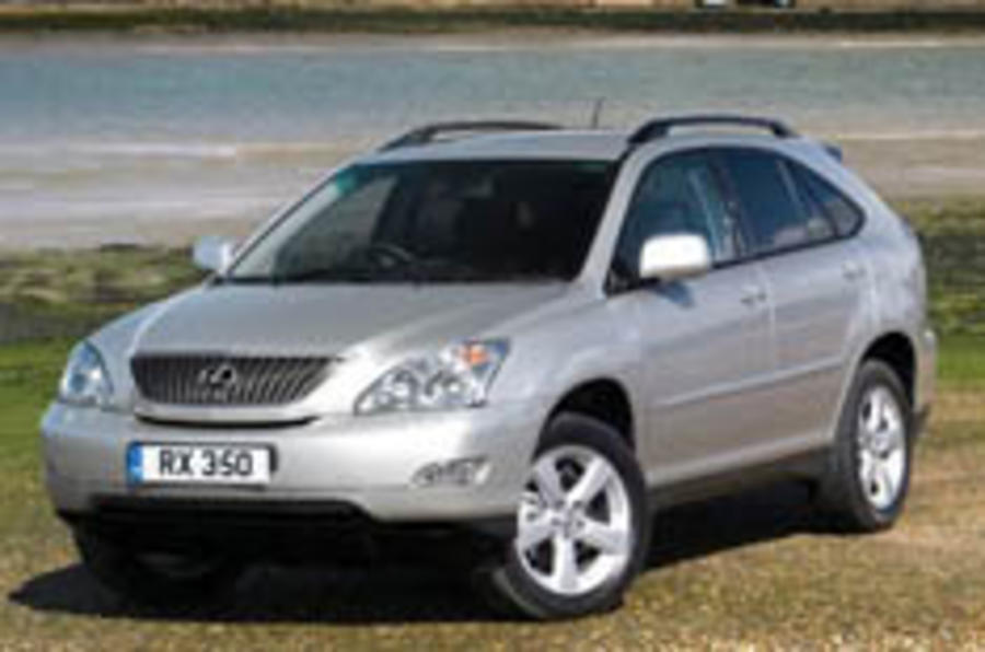 More power for Lexus RX