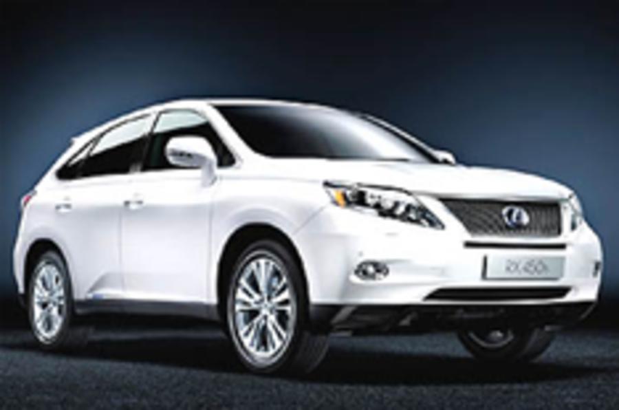 Lexus tops JD Power survey