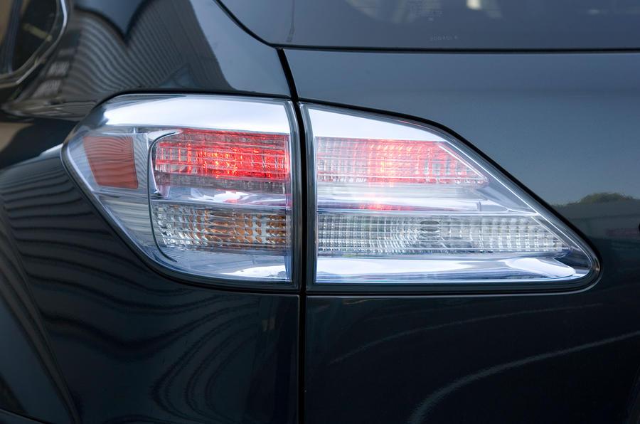 Lexus RX rear lights