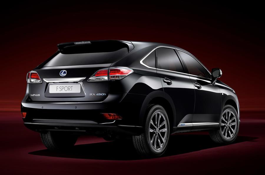 Geneva 2012: Lexus RX 450h