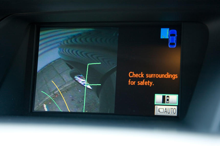 Lexus RX infotainment system