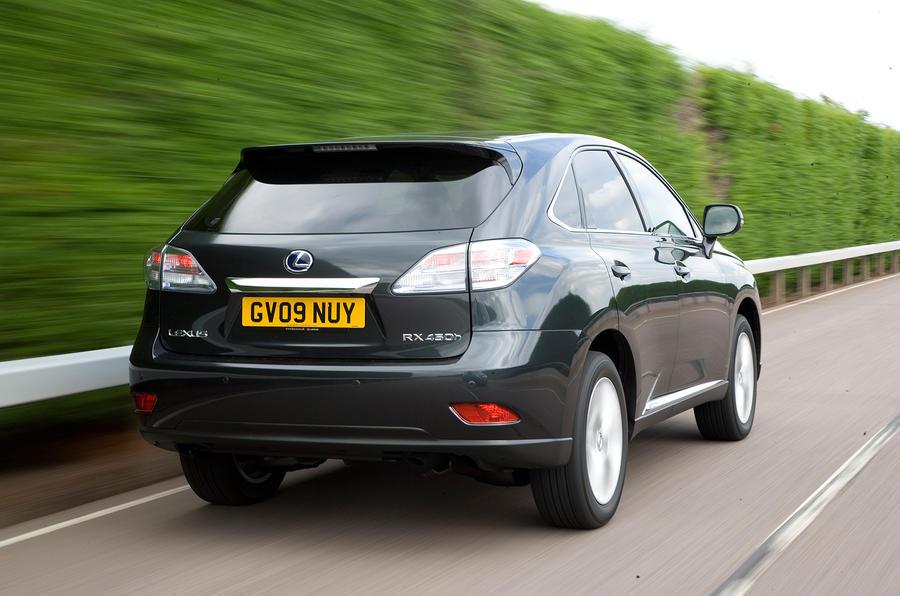 Lexus RX rear quarter
