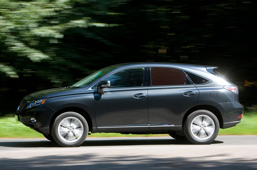 Lexus RX side profile