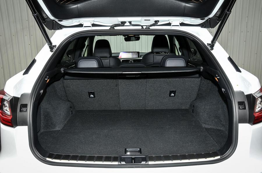 Lexus RX boot space