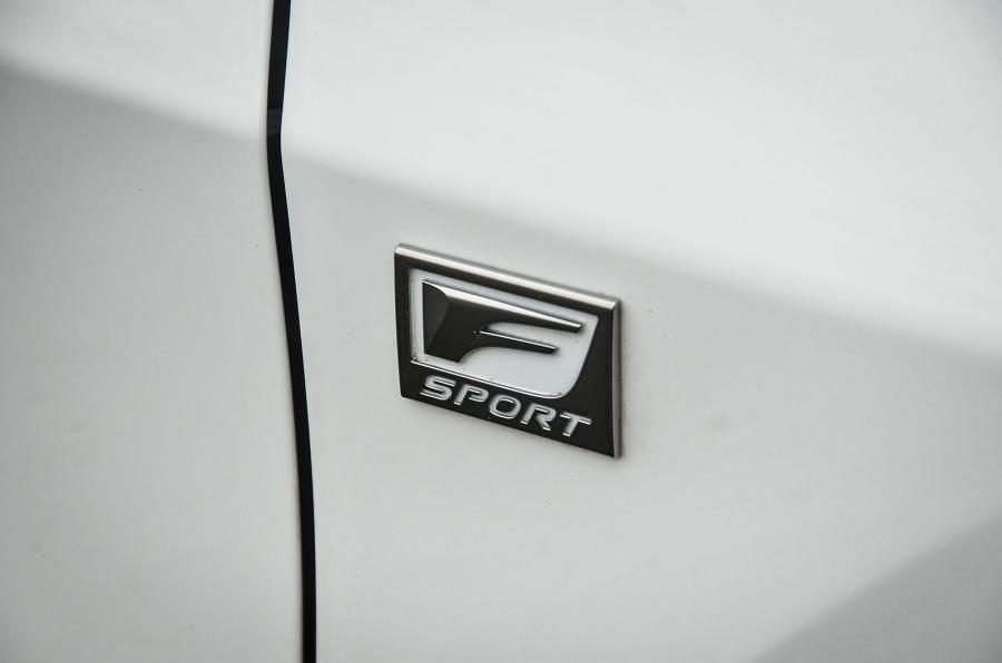 Lexus RX F-Sport badging