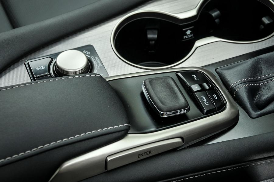 Lexus RX infotainment joystick controller