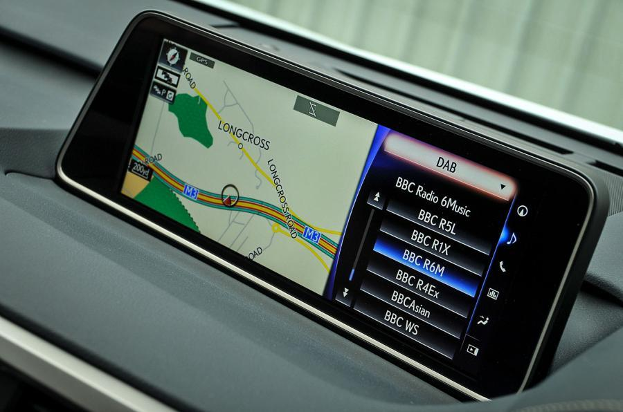 Lexus RX infotainment