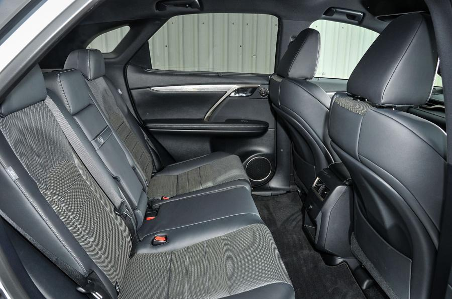 Lexus RX rear seats