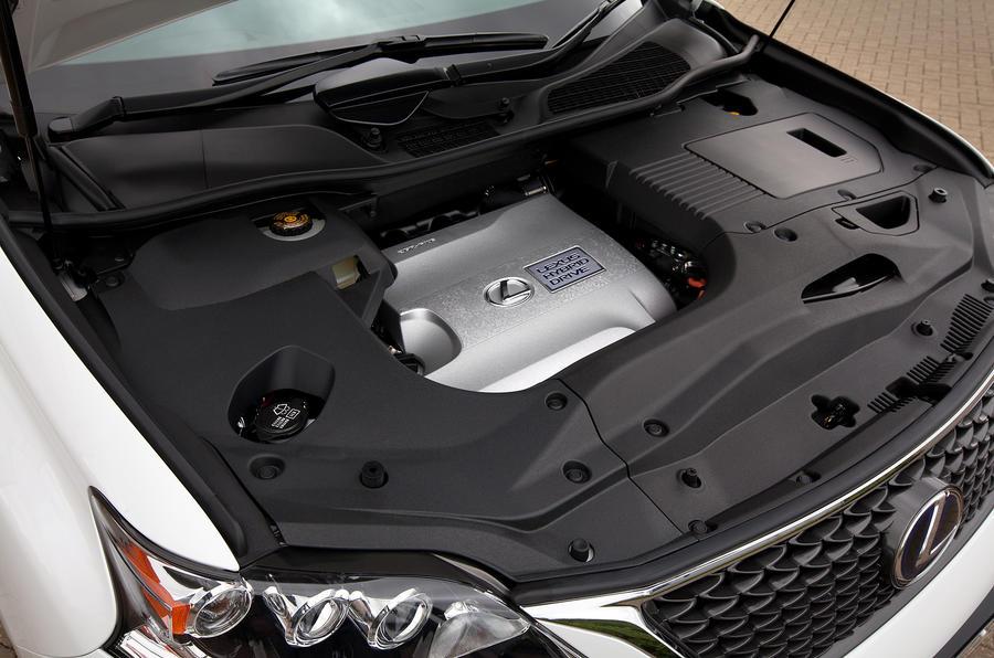 3.5-litre V6 Lexus RX450h petrol engine