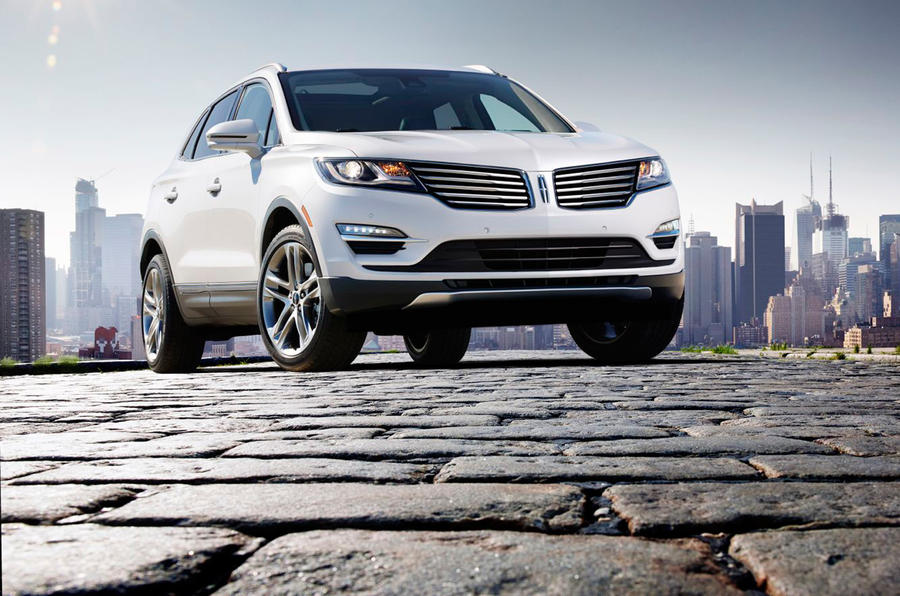 Lincoln MKC SUV shown